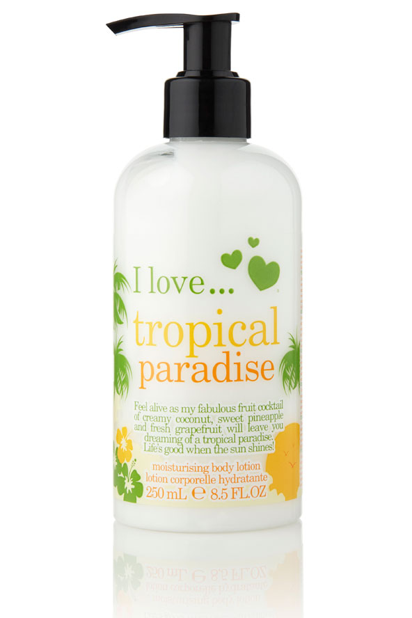 I Love Tropical Paradise
