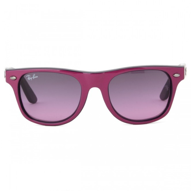Purple Ray Ban
