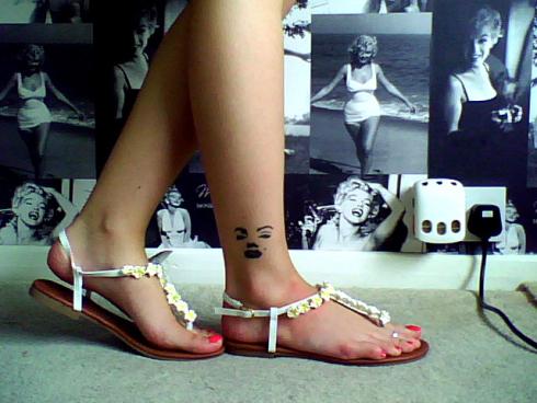 Flower Sandals 2