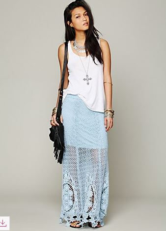 Maxi Skirt Crochet