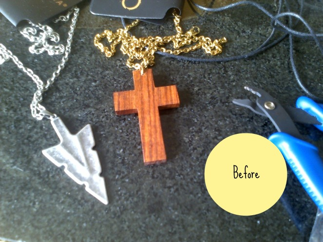 Necklaces Before